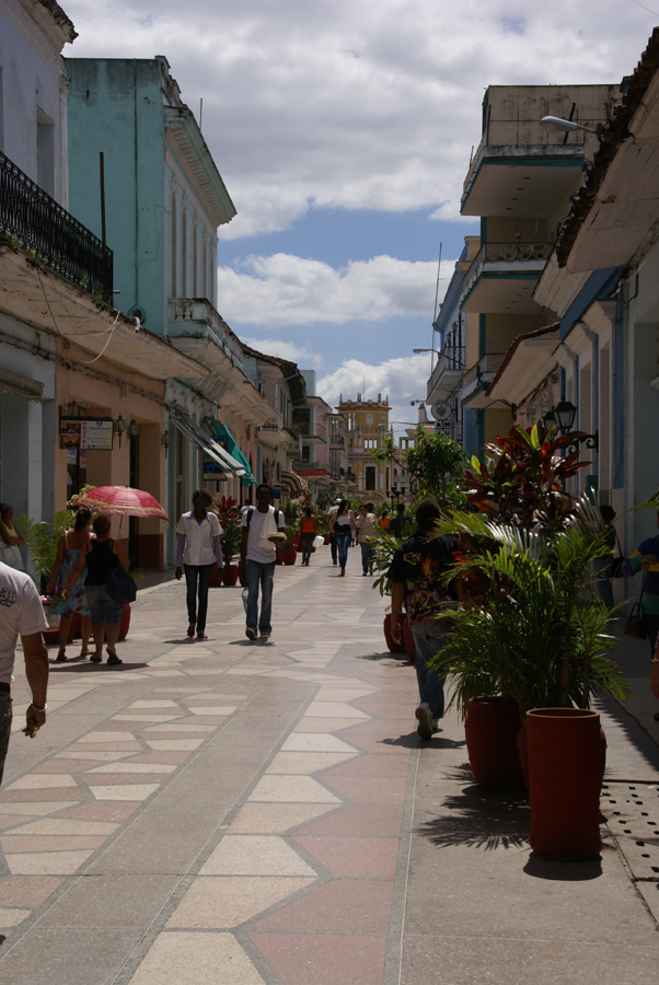 Looking South on Independencia Sur, Sancti Spiritus,Cuba